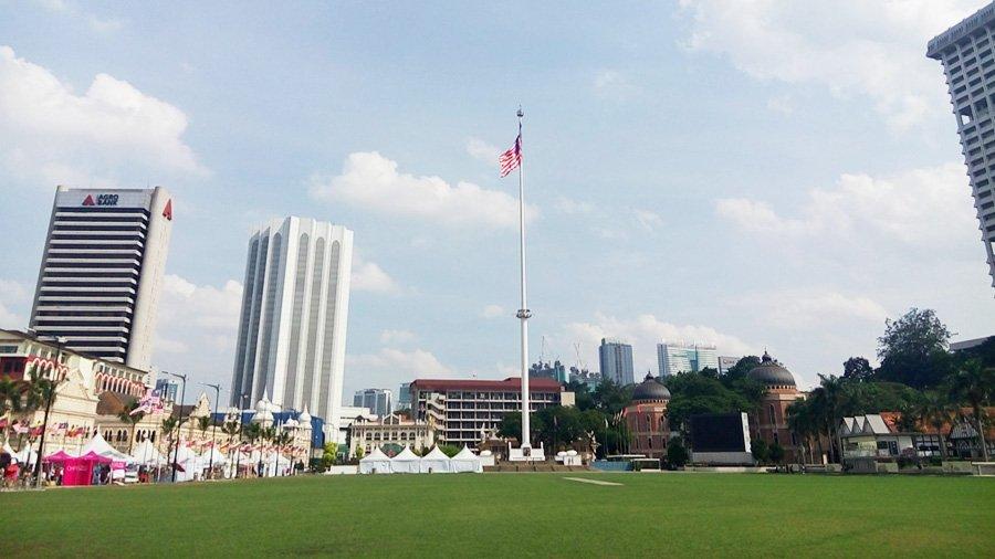 Cột cờ cao nhất thế giới ở Malaysia