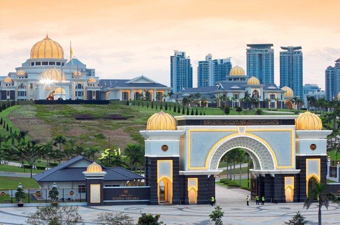Cung điện hoàng gia Istana Negara Malaysia