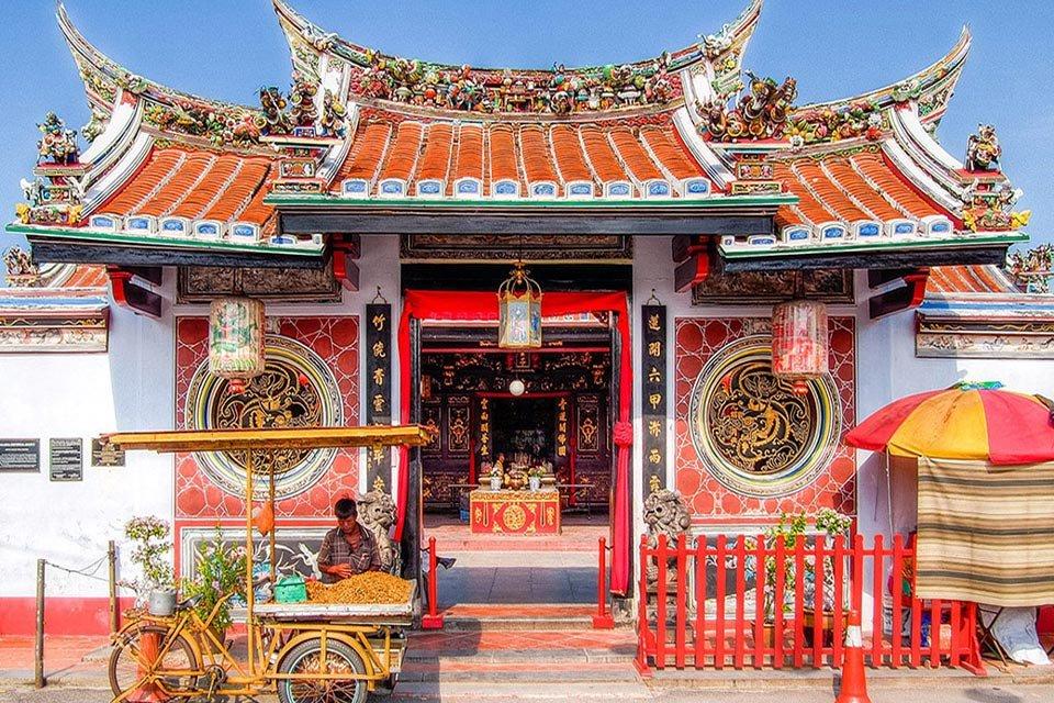 Đền Cheng Hoon Teng ở Malacca