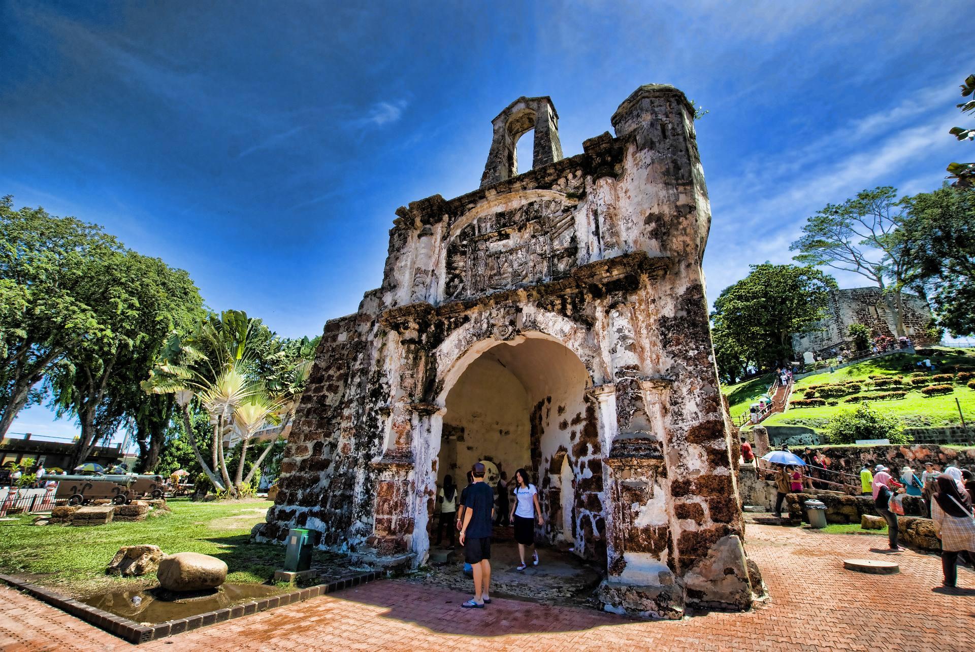 Pháo đài cổ Bồ Đào Nha - A Famosa Malacca