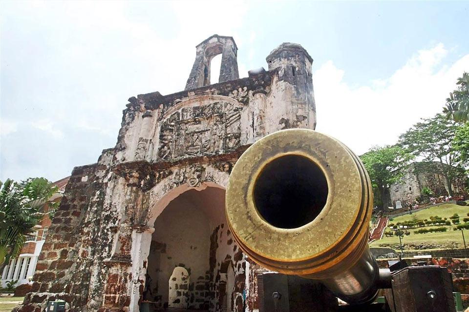 Pháo đài A Famosa Malacca
