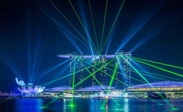 Wonder Full – chương trình nhạc nước đặc sắc tại Marina Bay Sands