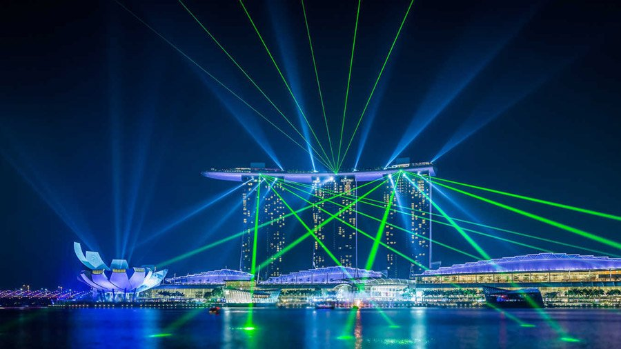 Marina Bay Sands The Wonder Full Show