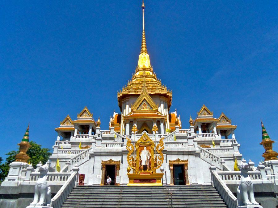 Chùa Wat Traimit Bangkok Thái Lan