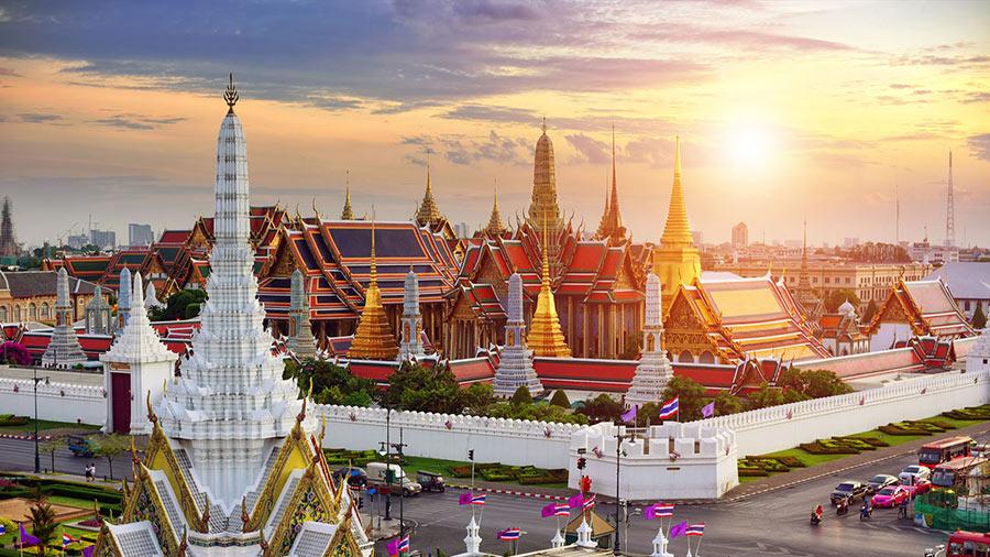 Cung điện hoàng gia Thái Lan