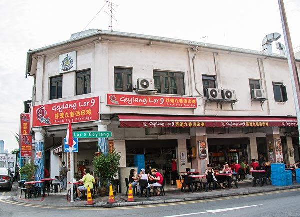 Thiên đường ẩm thực Geylang Singapore