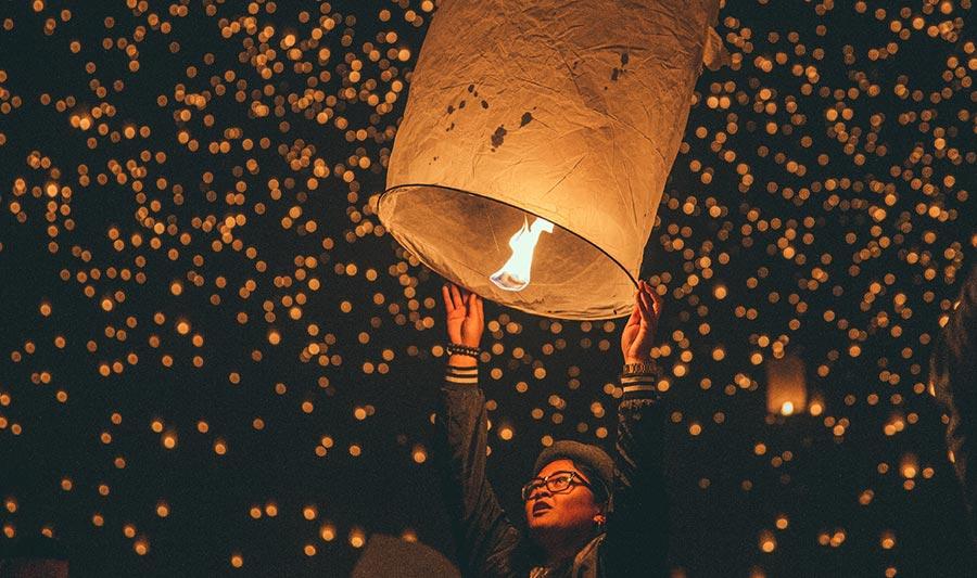 Lễ hội YiPeng Thái Lan