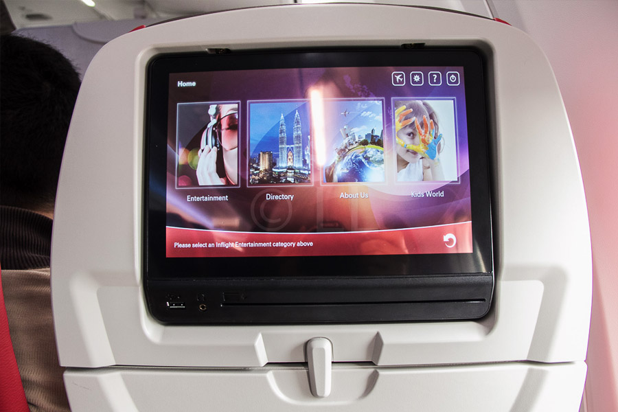 Malindo air inflight entertainment