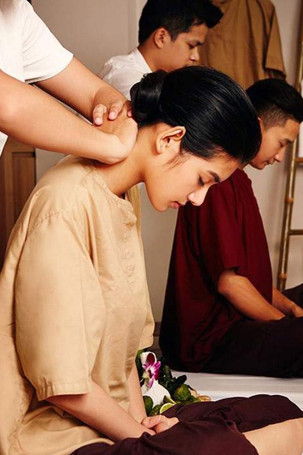 Trải nghiệm massage Thái