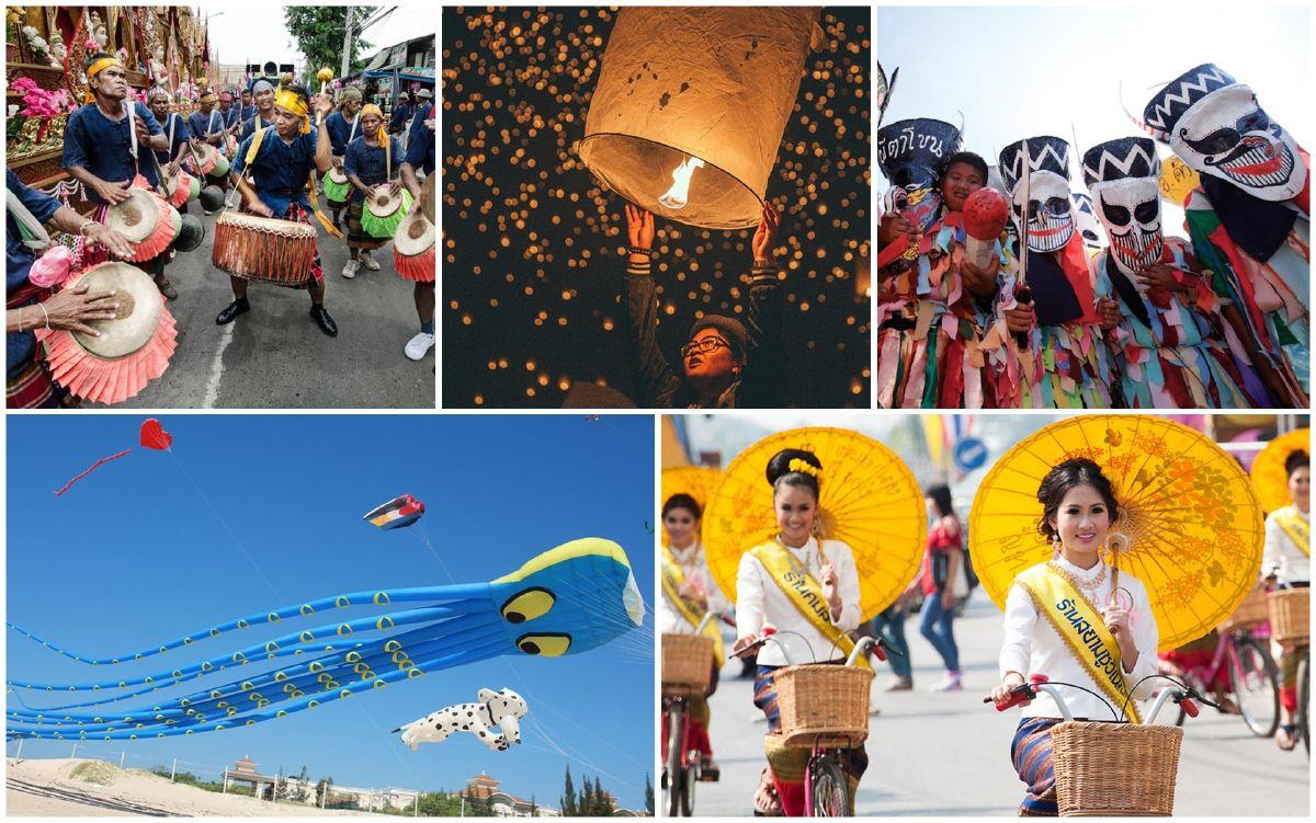 Những lễ hội nên biết khi du lịch Thái Lan