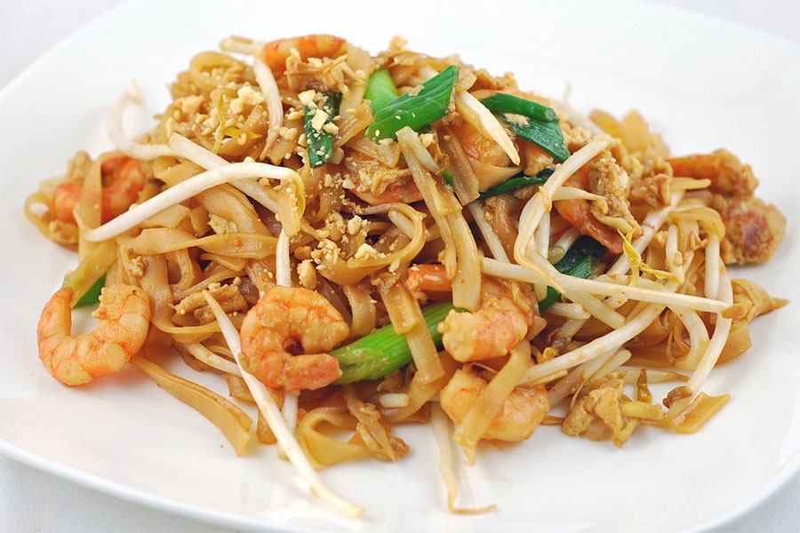 Pad Thai món ăn nổi tiếng ở Thái Lan
