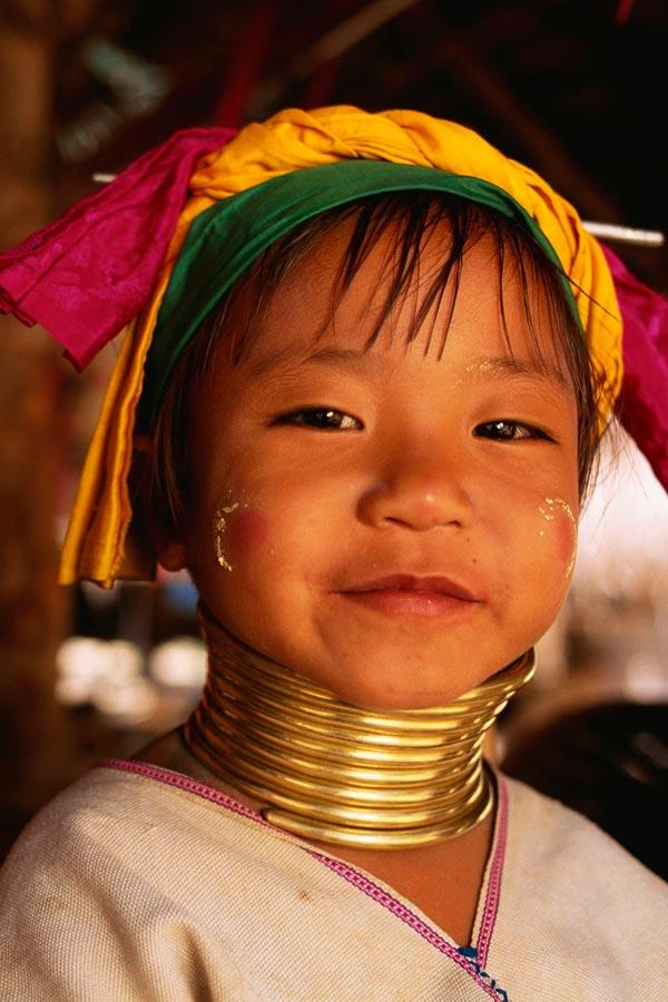 người cổ dài ở Karen Long Neck Village