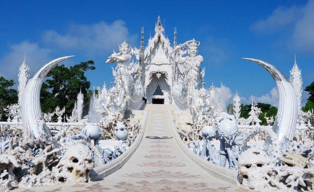 """Wat Rong Khun – ngôi chùa Trắng của Chiang Rai """"trong truyền thuyết"""""""