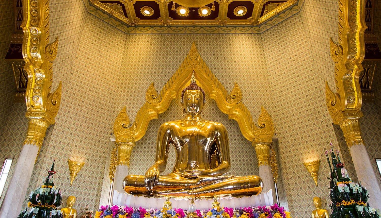 Wat Traimit (Chùa Phật Vàng) - ngôi chùa có tượng Phật vàng nguyên khối