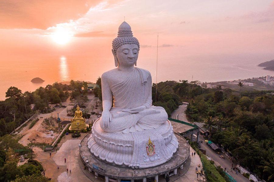 Tượng Phật lớn Big Buddha Phuket