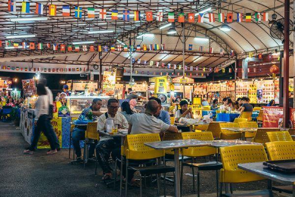 Chợ đêm night bazaar Chiang Mai