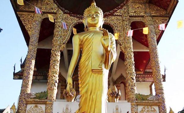 Wat Buppharam – ngôi chùa trong bộ phim nổi tiếng Lost In Thailand