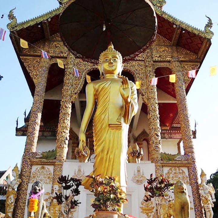 Chùa Wat Buppharam Chiang Mai