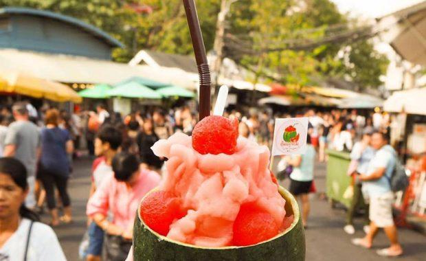 Chợ cuối tuần Chatuchak ở Bangkok – chợ đầu mối lớn nhất Thái Lan