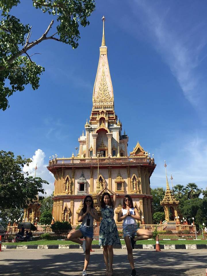 Du lịch Thái Lan cùng nhóm bạn