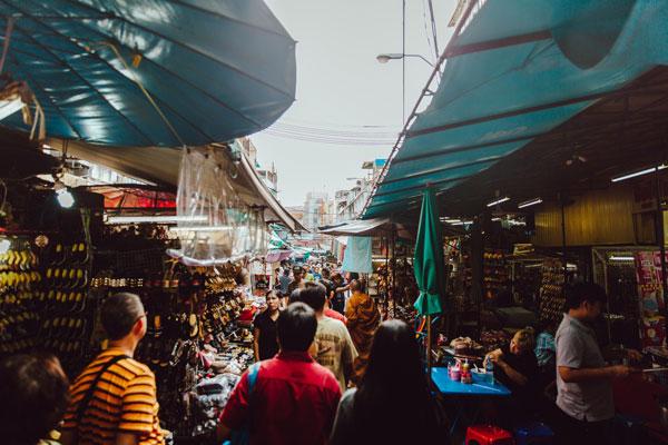 ĐI chợ Thái Lan