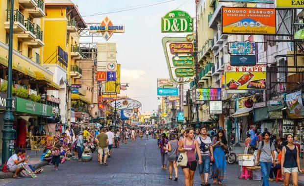 Khao San Road – phố đi bộ nhộn nhịp nhất Bangkok