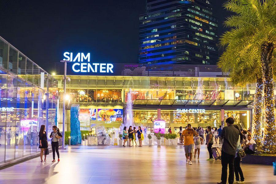 Các trung tâm mua sắm hàng hiệu ở Thái Lan