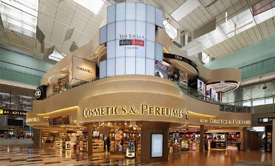 Shilla Duty Free sân bay Changi