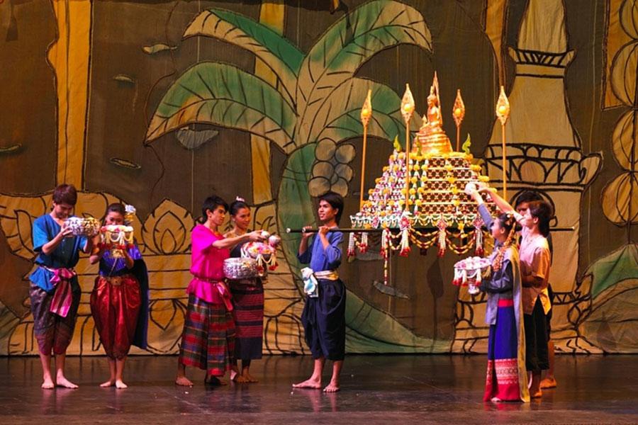 Show Siam Niramit: tái hiện cảnh lễ hội của Thái Lan