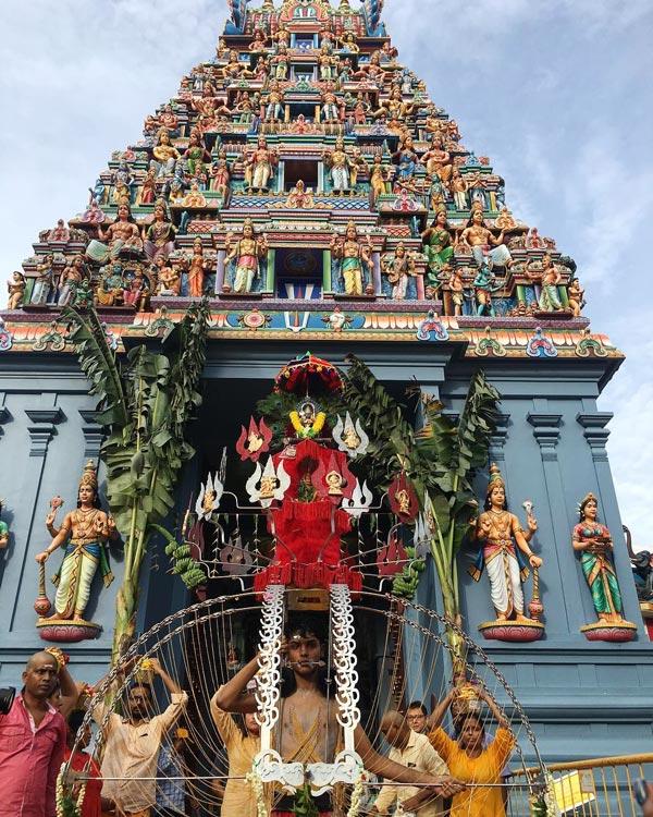 Sri Srinivasa Perumal Temple Singapore