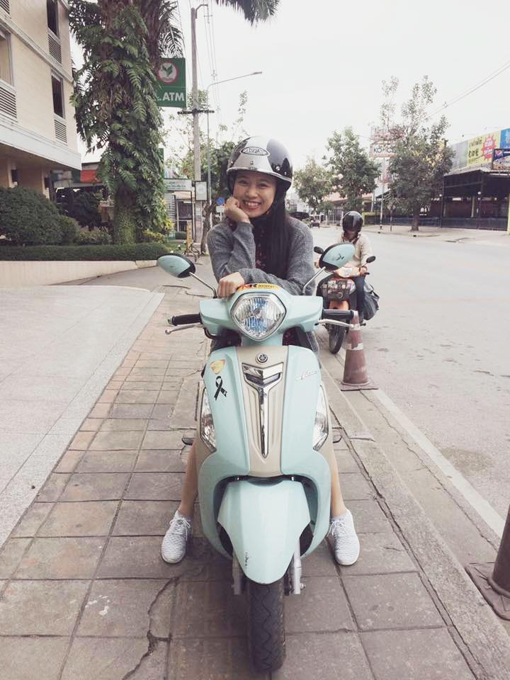 Thuê xe máy ở Chiang Mai