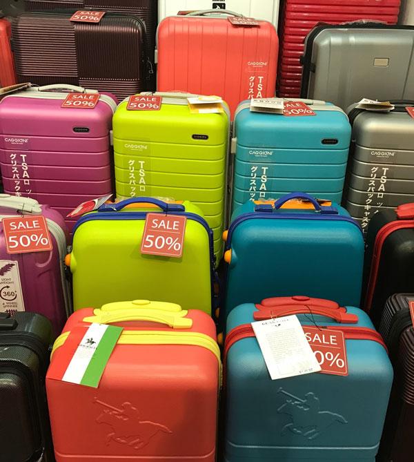 Mua Vali giá rẻ ở Thái Lan