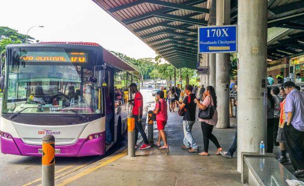 Hướng dẫn đi xe bus từ Singapore sang Johor Bahru (Malaysia)