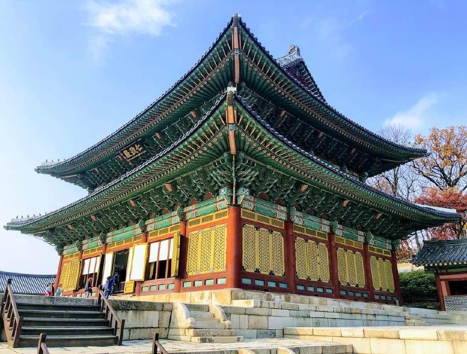 Kiến trúc cung điện Changdeok