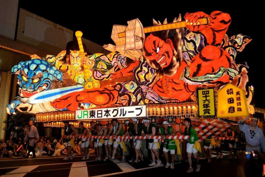 Lễ hội Aomori Nebuta Matsuri Nhật Bản