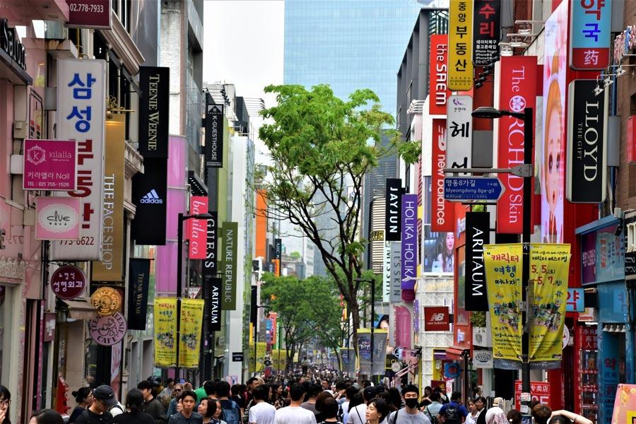 Myeongdong Seoul