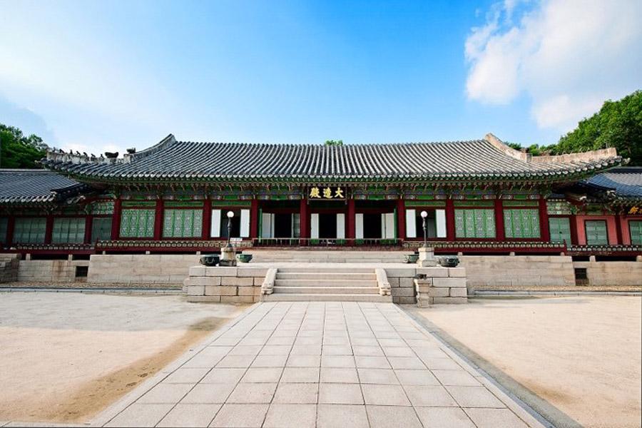 Điện Daejo cung điện Changeok