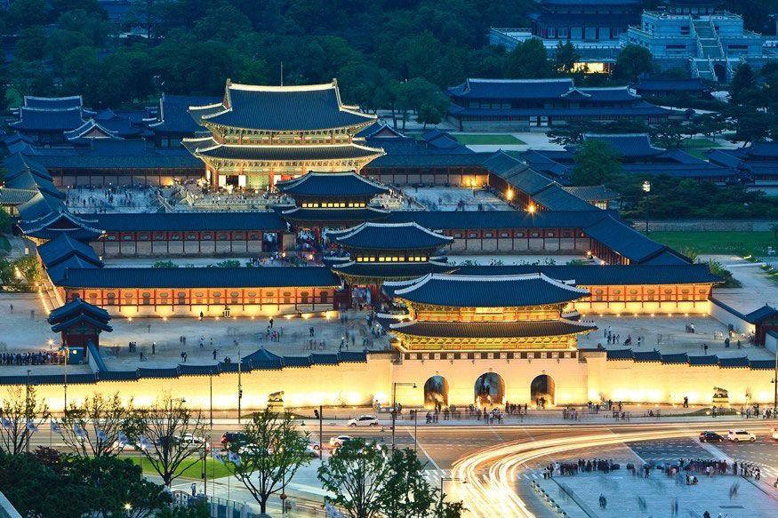 Toàn cảnh cung Gyeongbok